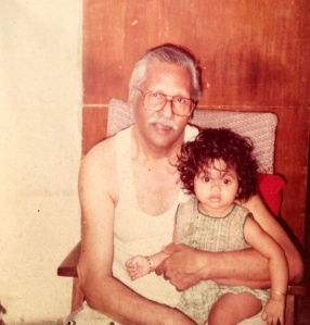 Most of my childhood photos are with Dadu. Most of my childhood, I've spent with him.