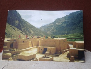 Post card Photo: Tabo Monastery, Spiti Valley