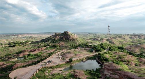 Rao Jodha Desert Rock Park: Photo taken from their Website