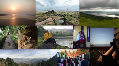 L to R: Diu, Jodhpur, Kaas, Dandi, Ranthambore, Dang, Sula, Mussourie, Jaipur Literature Festival, Udaipur
